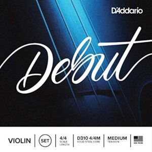 Encordado Violín D'Addario Debut 4/4