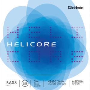 Encordado Contrabajo D'Addario Helicore Solo HS610 3/4