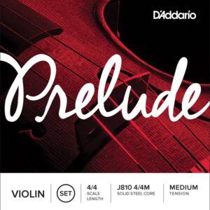 Encordado Violín 4/4 D'Addario Prelude-J810