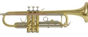 Trompeta Lacada Selmer Bach