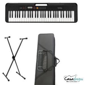 Combo teclado casio ct-s200
