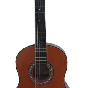 Guitarra Acústica Nacional GTMS- Con Estuche Flexible