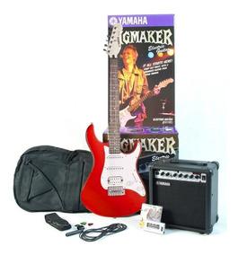 kit guitarra yamaha eg112 roja