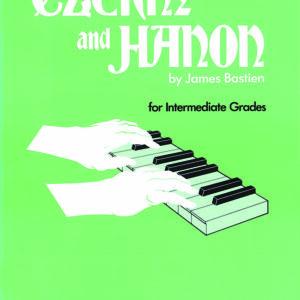 Libro Czerny y hanon para estudiantes intemredios