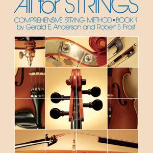 Método Para Cello 78CO - All For Strings Libro 1