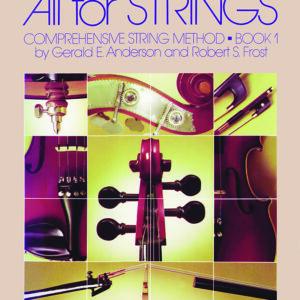 Método De Violín All For Strings - Nivel 1 - Inglés