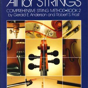 All For Strings Libro 2-Método De Contrabajo-Inglés