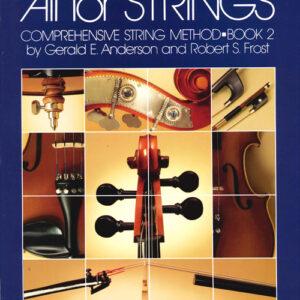 Método Para Viola All For Strings Libro 2 - Inglés