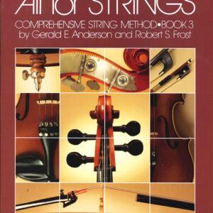 Método Para Cello nivel 3 - All For Strings - Inglés