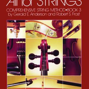 Método de violín nivel 3 All For Strings - Inglés