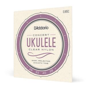 Encordado Ukelele Concierto EJ65C Daddario .028-.028