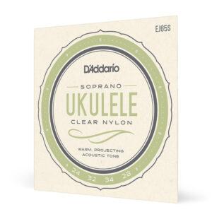 Encordado Ukelele Soprano EJ65S Daddario .024-.028